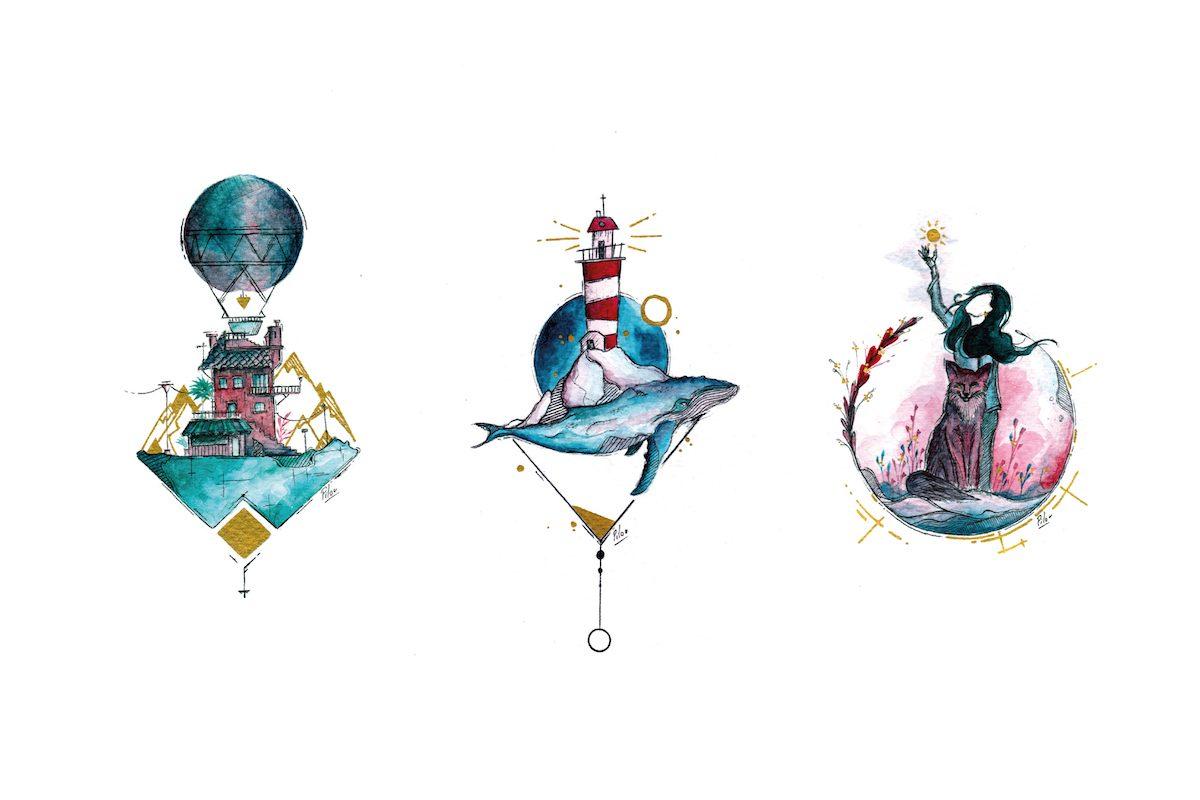 plaisirdetresoi-plaisir etre soi-pilou-graphiste-freelance-angers-illustrateur-eegp-365 jours-challenge-defi-dessin-art